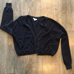 Garage cropped cardigan